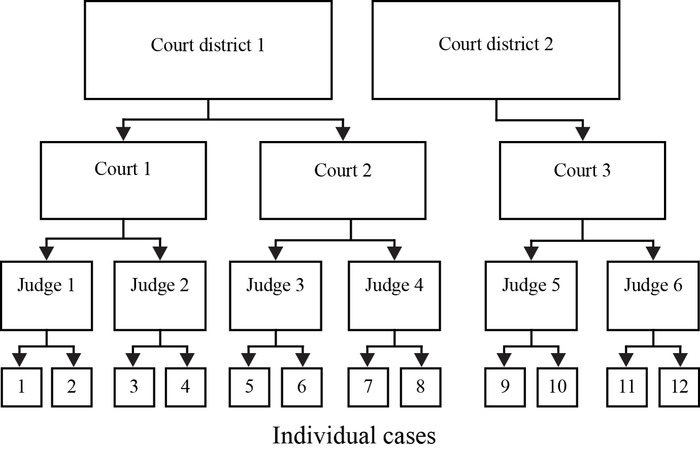 Statistical Analyses Of Court Decisions An Example Of Multilevel